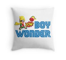 Boy wonder (Wonder Boy) Throw Pillow