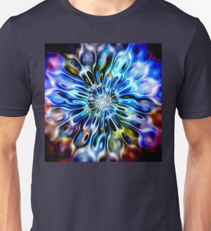 Magic Ripples FLOWER - multicolored Unisex T-Shirt