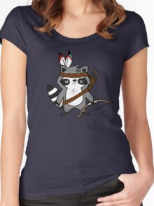 Apache The Raccoon Women's Fitted Scoop T-Shirt