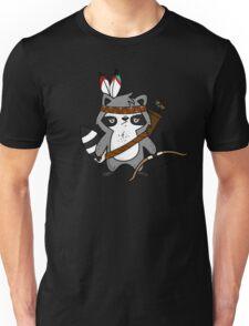 Apache The Raccoon Unisex T-Shirt