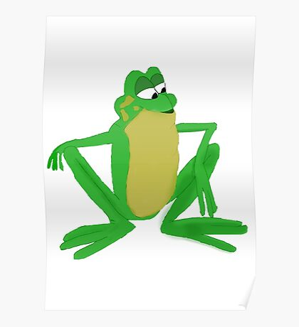 A frog prince Poster