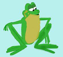 A frog prince by Irenuccia