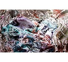 Ego shattering searching new perceptions Photographic Print