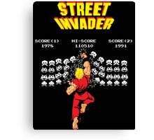 Street Invader Canvas Print