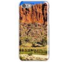 Mountain range outside Alice Springs iPhone Case/Skin