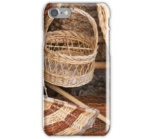 old basket iPhone Case/Skin