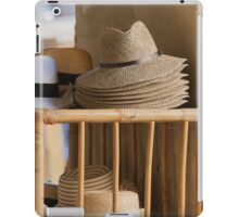 man's hat iPad Case/Skin