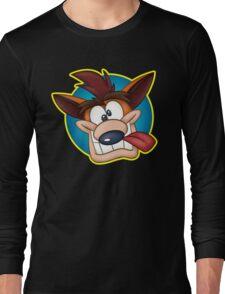 Crash Face Long Sleeve T-Shirt