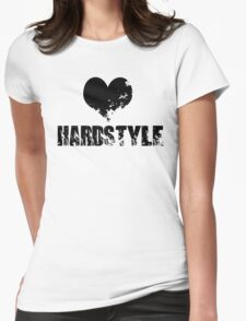 Heart For Hardstyle Womens Fitted T-Shirt