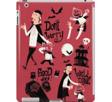 Dracula and Son iPad Case/Skin