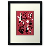Dracula and Son Framed Print