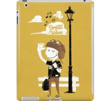 Smile and Wave iPad Case/Skin
