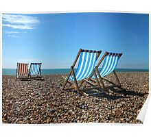 Summer on Brighton Beach Poster
