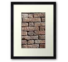 old wall Framed Print