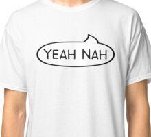 """Australian Slang -Speech Bubble- """"Yeah Nah"""" Classic T-Shirt"""