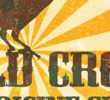 Old Crow Medicine Show Rusty Sign Sticker