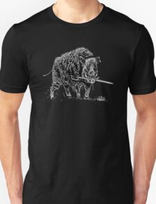 Commitment to your cause (boar and sword) T-Shirt