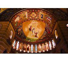 Cathedral Basilica of Saint Louis Interior Study 8  Photographic Print