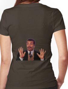 Degrasse the Badass Womens Fitted T-Shirt