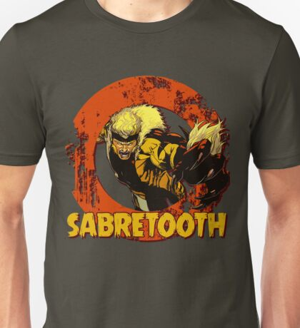 Sabretooth •X-men Comic Book Unisex T-Shirt