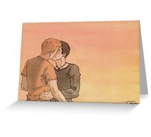Kissing Bruno Greeting Card