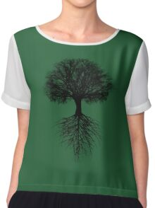 Tree of Life Chiffon Top