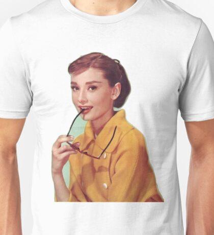 Young Audrey Hepburn  Unisex T-Shirt