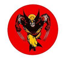 Classic Wolverine •X-Men Photographic Print
