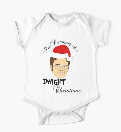 Dwight Christmas  One Piece - Short Sleeve