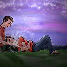 Sleeping in your hand by 2Herzen