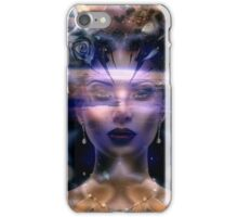Angel Above the Earth iPhone Case/Skin