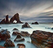 Sea Arch At Crohy Head by Derek Smyth