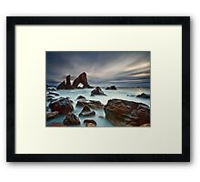 Sea Arch At Crohy Head Framed Print