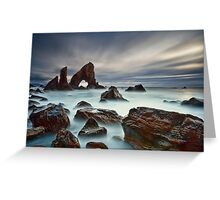 Sea Arch At Crohy Head Greeting Card