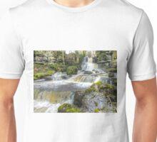 Cliff Beck Falls  2 - HDR Unisex T-Shirt