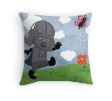 Star Wars babies - inspired by Darth Vader Throw Pillow