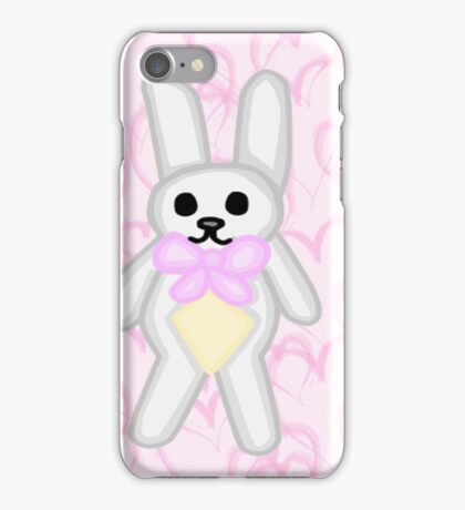 Bunny toy  iPhone Case/Skin