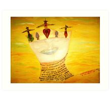 The Grail Of Holiness Art Print