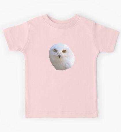 Male Snowy Owl Kids Tee