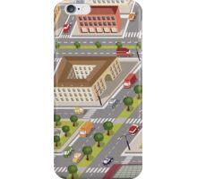 Retro city iPhone Case/Skin