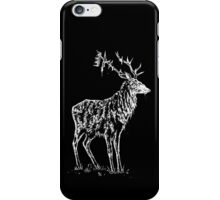 Stag and crown iPhone Case/Skin