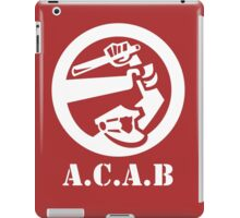 All Cops Are Bastards iPad Case/Skin