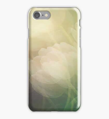 Petals in the wind iPhone Case/Skin