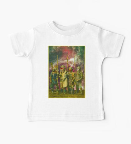 Samurai Space Guardians. Baby Tee
