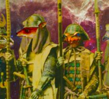 Samurai Space Guardians. Sticker