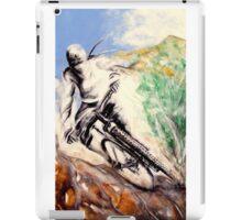 The sport serie: Mountain-bike iPad Case/Skin