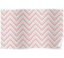 Baby Doll Chevrons Poster