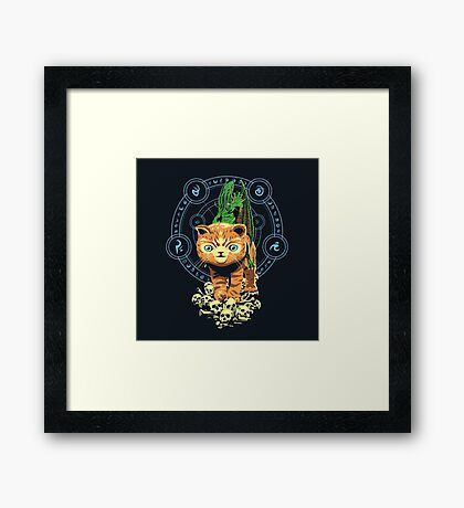DARK CUTENESS Framed Print