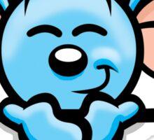 HeinyR- Blue Mouse Sticker