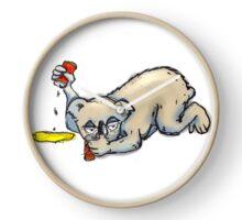Drop Bear  Clock